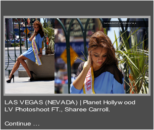 SHAREE CARROLL PHOTOSHOOT LV